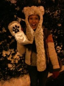 Me in SoHo Snowmageddon, circa 2010