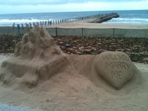 On the beach in Durban… I'd say yes ;-)