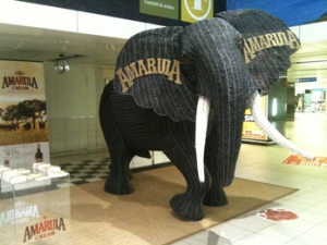 The giant elephant in the room… at the airport, that is.