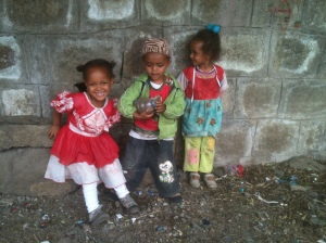 Children in Arat Kilo