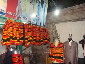 Suits made in Arba Minch, from traditional Ethiopian cloth