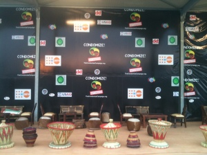 CONDOMIZE Coffee Ceremony Zone, after set up!