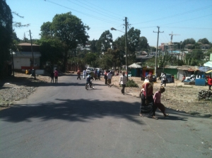Our neighborhood in Addis
